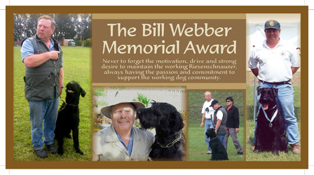 Bill Webber Memorial